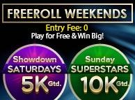 Freeroll Weekends