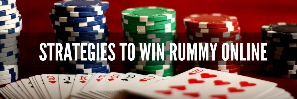 Strategies to win rummy online