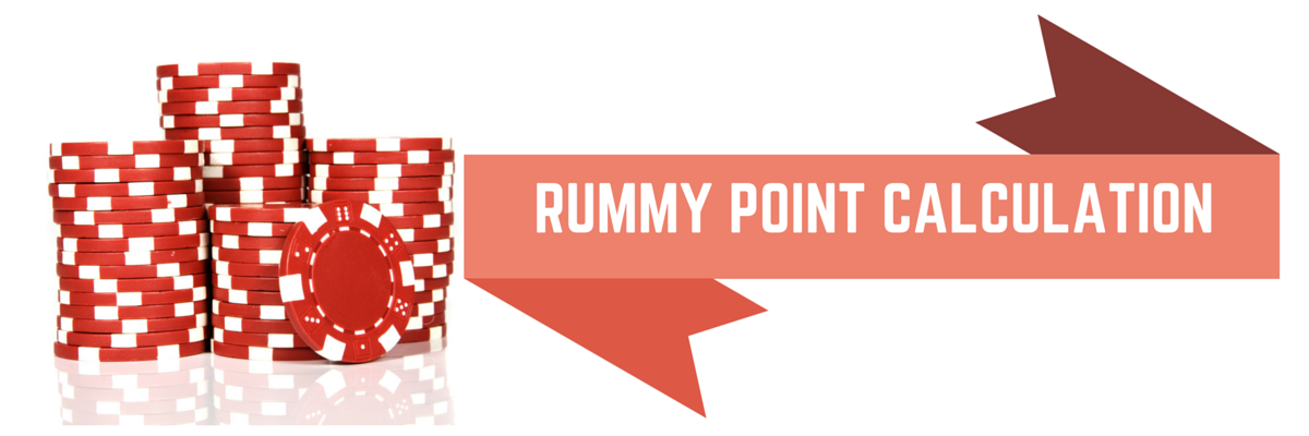 How to calculate points in Rummy