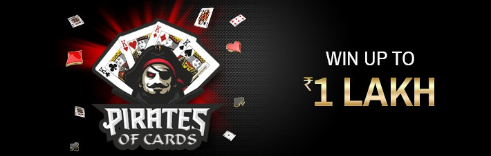Pirates of Cards Rummy Promotion