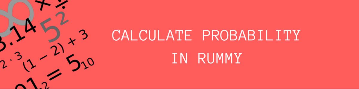 probability in rummy