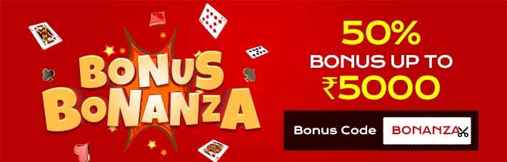 Bonus Bonanza Rummy Millioniare