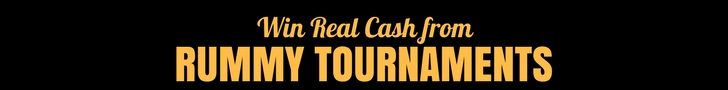 rummy tournaments real money