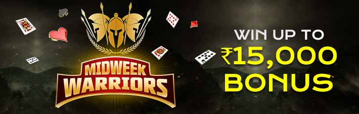 Midweek Warriors at Rummy Millionaire
