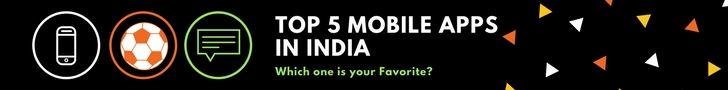 top 5 mobile apps in india