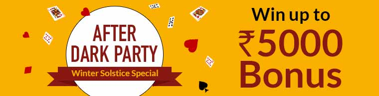 online rummy xmas new year promotion tournament